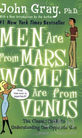 心理学书籍在线阅读: Men Are from Mars, Women Are from Venus