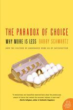 心理学书籍在线阅读: The Paradox of Choice