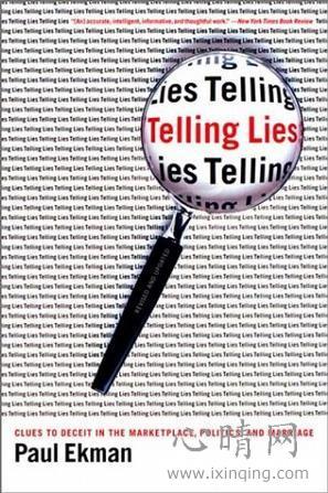心理学书籍在线阅读: Telling Lies
